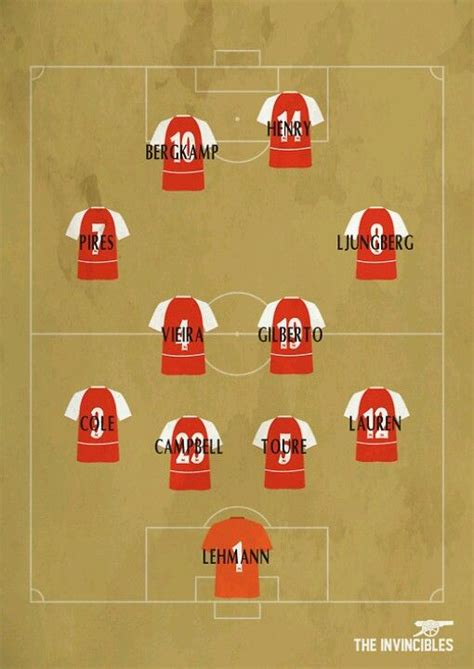 arsenal unbeaten squad 25 best ideas about arsenal football team on pinterest