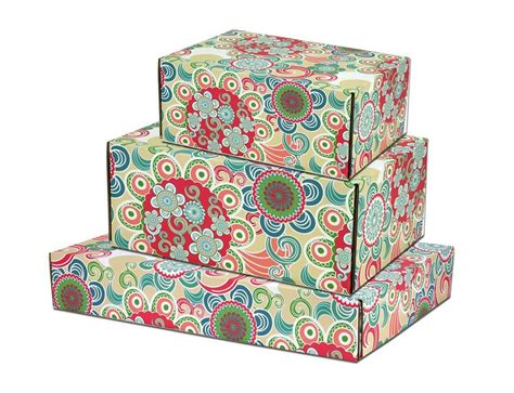 Decorative Shipping Boxes by Floral Decorative Shipping Boxes Boxandwrap