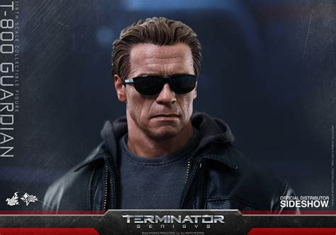 Toys Terminator Genisys T 800 Guardian Battle Damaged 1 6 toys unveils arnold schwarzenegger as the t 800