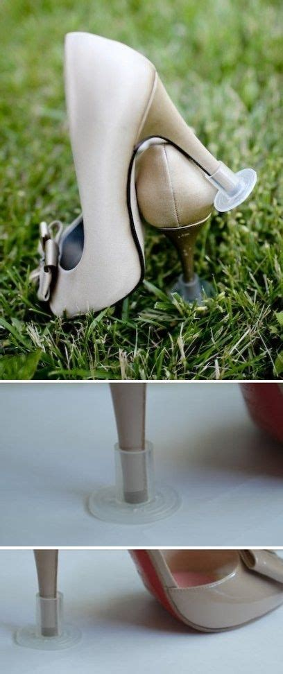 high heel grass protectors pin by diana on wedding ideas