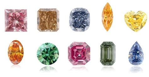 color diamonds and shapes for every personality leibish