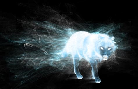 wolf patronus by hpwolffreak on deviantart