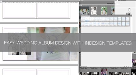 photo album layout indesign q a how to create a wedding album in indesign using