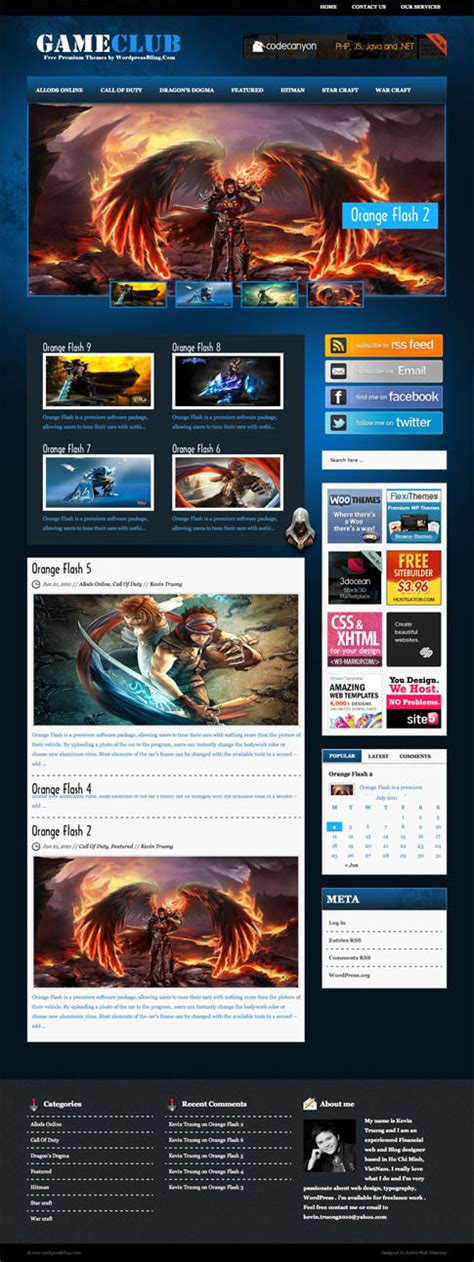 themes games for wordpress game wordpress theme free images