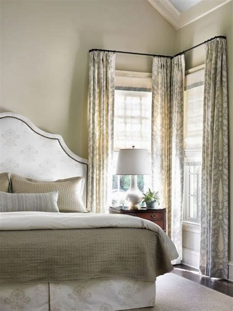 Corner Windows Decor 25 Best Ideas About Corner Window Treatments On Corner Window Curtains Corner