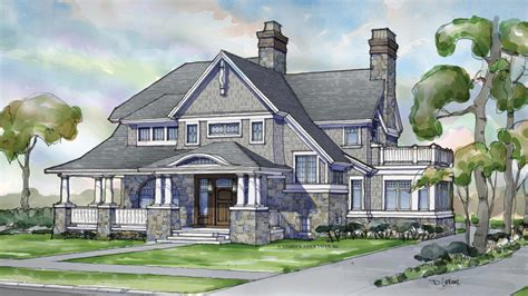 shingle style home plans shingle style style home