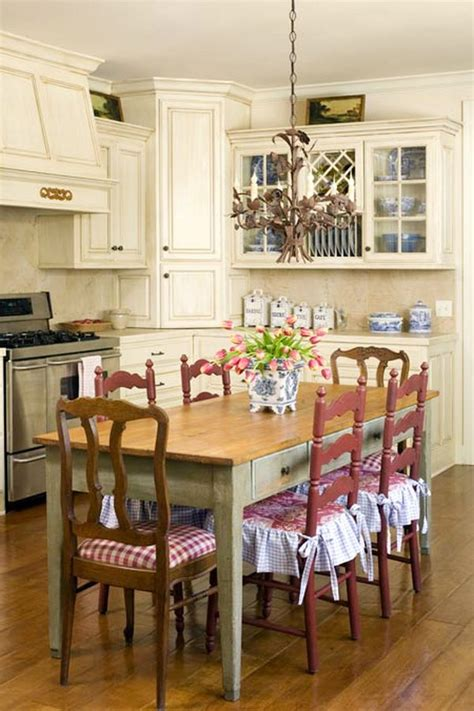 cottage style kitchen table and chairs how to achieve a country style