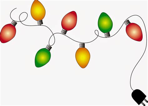 christmas lights borders happy holidays clipart image 3