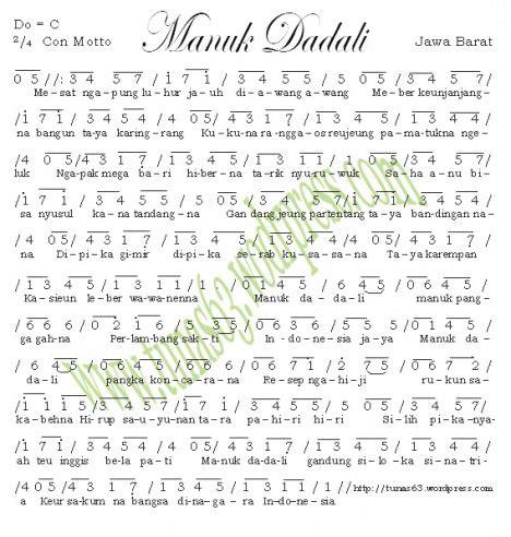 download mp3 dadali lagu baru not angka manuk dadali not angka lagu terbaru