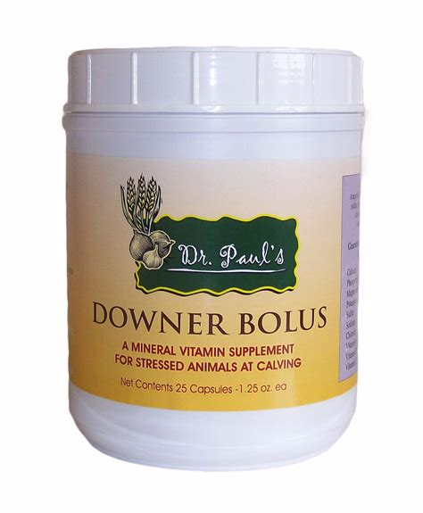 Dr Pauls Detox Bolus buy dr paul dettloff s downer boluses for cows at our