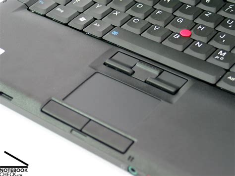 Touchpad Lenovo review ibm lenovo thinkpad t61 notebook notebookcheck net reviews