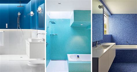 Blue White Bathroom by 13 Inspirational Exles Of Blue And White Bathrooms