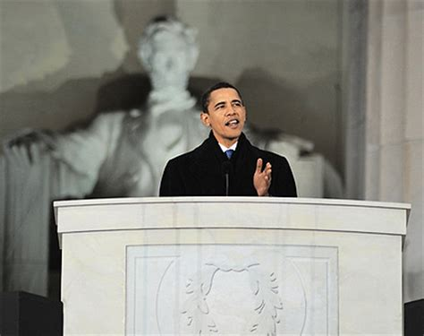 obama lincoln memorial barack obama lincoln memorial speech photo print for sale