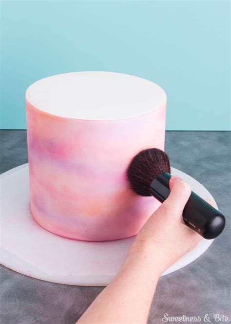 Simple Watercolour Cake Tutorial   Sweetness & Bite