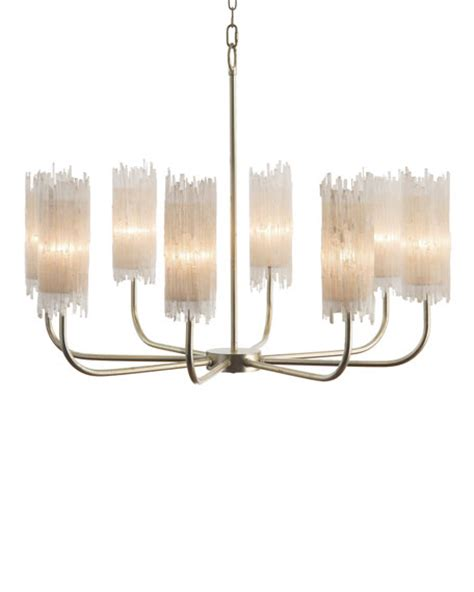 Selenite L Benefits by Richard Collection Selenite Shaded 8 Light Chandelier