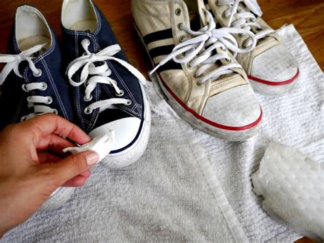 how to clean canvas shoes c r a f t