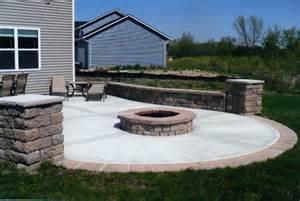 patio work concrete work viking bros landscaping