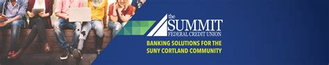 summit federal credit union banking solution  suny