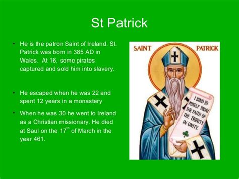 what is st known for st s day