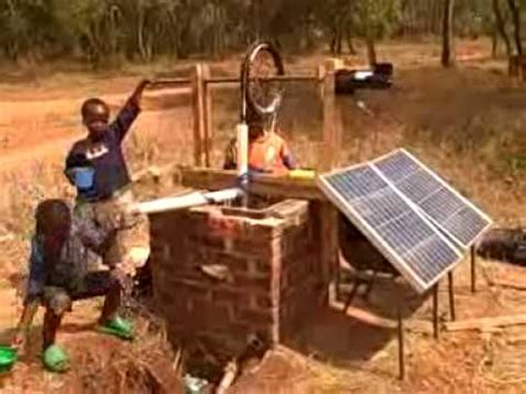 Solar Powered Hello Caicai 2 solar rope malawi 4 water
