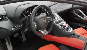 Inside Lamborghini Aventador 2012 Lamborghini Aventador Lp700 4 W
