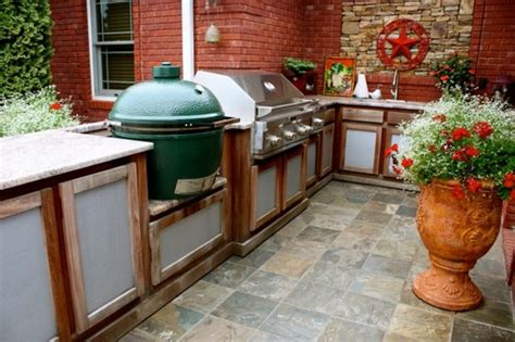 Big Green Egg Outdoor Kitchen by Outdoor Kitchen Ideas Big Green Egg