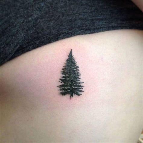 small pine tree tattoo best 25 pine ideas on pine tree