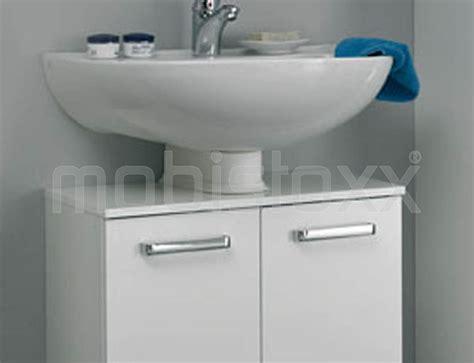 Meuble Sous Lavabo Willy 2 Portes Largeur 60 Cm Blanc Meuble Entree Largeur 60 Cm