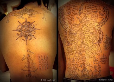 lars krutak magical tattoos of thailand s mahouts