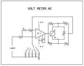 Voltmeter Volt Meter Arus Ac Merk Heles Indonesia Membuat Sendiri Voltmeter Ac