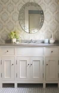 wallpaper in bathroom ideas kelsey m design wallpaper wednesday bathrooms