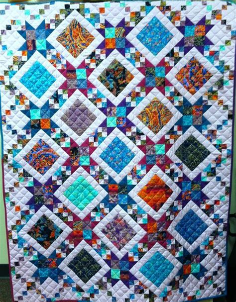 quilt pattern radiant you have to see radiant jewel quilt on craftsy