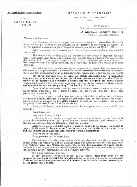 Modèle Présentation Lettre En Anglais Lettre De Demission Francais Application Letter