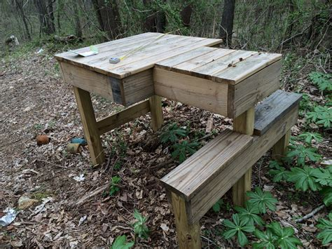 bench gun pin homemade shooting bench plans image search results on pinterest