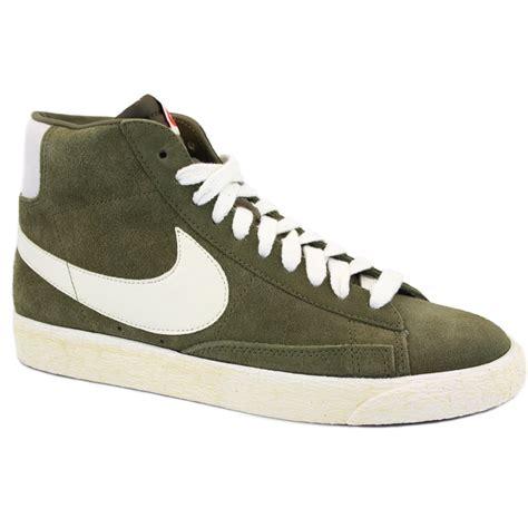 Nike Blazer Nike Blazer Mid Suede Vintage 518171 200 Womens Laced