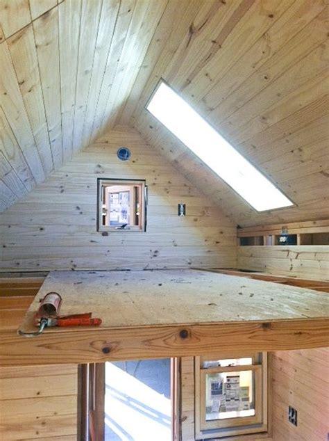 cool sleeping loft   tiny house