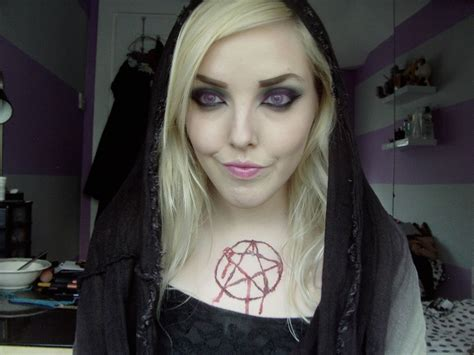 The Witch Day witch makeup ideas with tutorials a diy projects