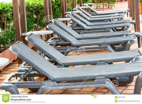 poolside benches poolside benches in line stock image image of bench