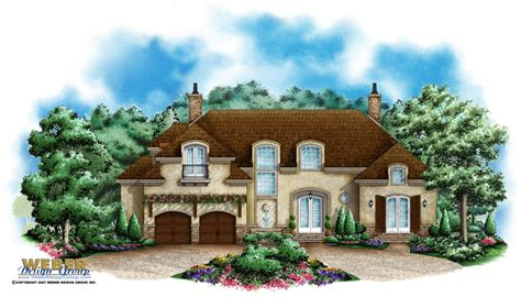 chateau style house plans country home plan chateau montemere home plan weber design