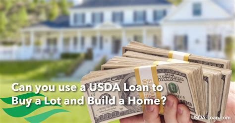 Can You Use A Usda Loan To Buy A Lot And Build A Home Usda Loan