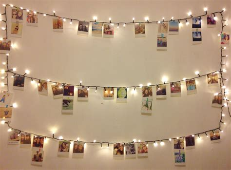 how to hang polaroid lights polaroid wall diy karaellarayner