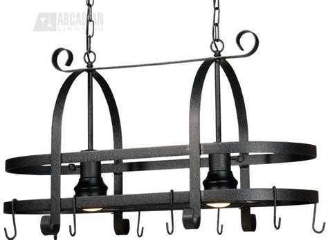 kitchen island pot rack lighting artcraft lighting ac1798speb pot racks transitional