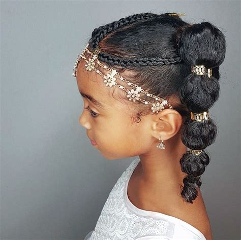 bubble ponytails hairstyles  curly  girls