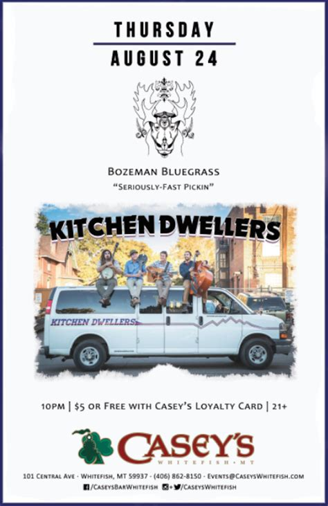 The Kitchen Dwellers by Kitchen Dwellers Casey S Whitefish