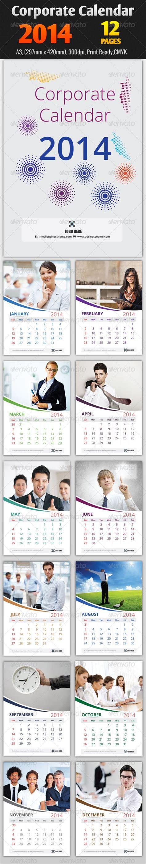 Corporate Calendar Template