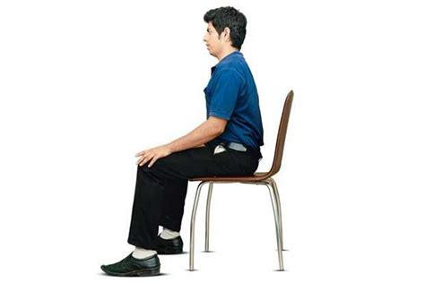 Sit In A Chair Or Sit On A Chair by Putting The Back In Your Spine Livemint