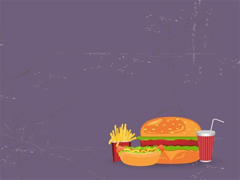 mc donalds restaurant powerpoint templates food drink