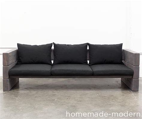 Homemade Modern Diy Outdoor Sofa 3 Modern Outdoor Sofa