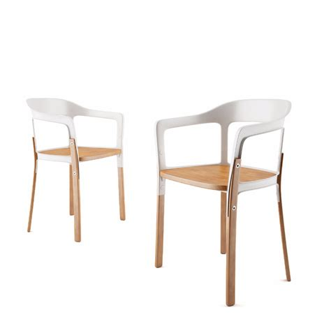 Chair Models by Steelwood Chair Dimensiva