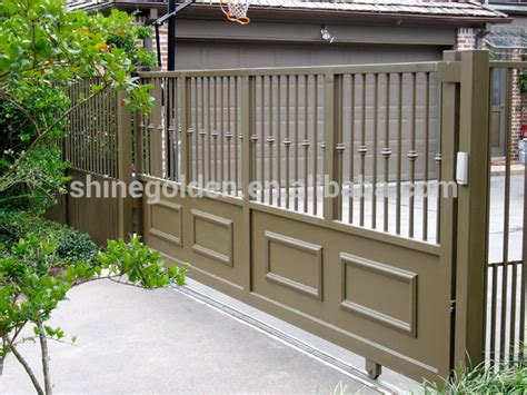 folding gate metal door frame steel entry gyd 15g0116 buy paint colors for gates